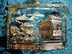 2006 ornament: Twin Mountain Railroad Station