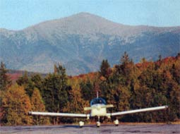 Twin Mountain Airport - Mt. Washington in background