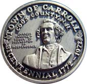 Town of Carroll Bicentennial Coin