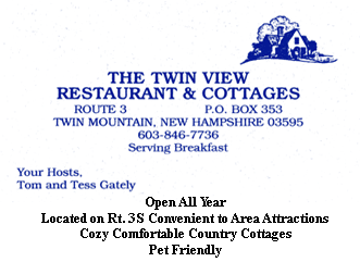Twin View Restaurant & Cottages